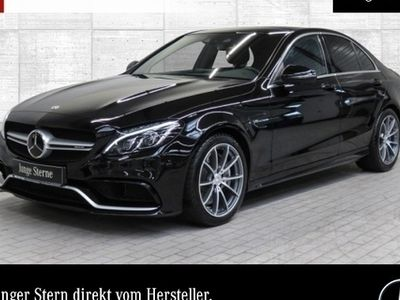 gebraucht Mercedes C63 AMG AMG Pano ILS Navi Fahrass+360°Burmester AHK