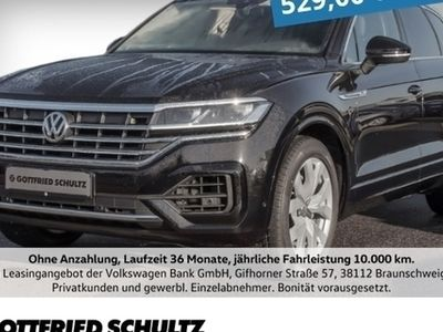 gebraucht VW Touareg 3,0 TDI R-LINE+KAMERA+LEDER+AHK+PANO+LUFTF