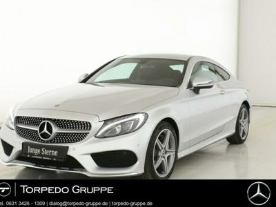 gebraucht Mercedes C250 COUPÉ AMG LED+STHZ+PTS+SHZ+KLIMA+Regensens
