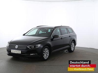 gebraucht VW Passat Variant Comfortline 2.0 TDI BMT | ACC schwarz