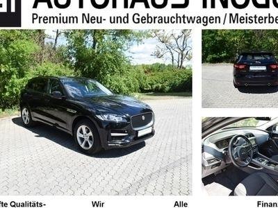gebraucht Jaguar F-Pace 3.0d R-Sport AWD Navi T-Leder Xenon ALU19 Privacy