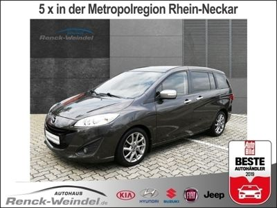 gebraucht Mazda 5 Sendo 1.6 MZ-CD 7-Sitzer Navi Rückfahrkam. Multif.