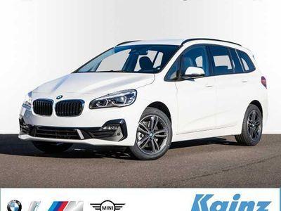 gebraucht BMW 218 Gran Tourer i Sport Line Navigation/LED Scheinwerfer/AHK/RFK/Sitzheizung/Klimaautomatik/aut. Heckklappe