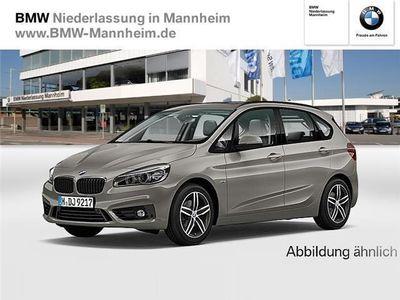 gebraucht BMW 218 Active Tourer d Navi Panoramadach Sport Line