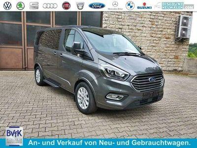 gebraucht Ford Custom TourneoTitaniumX Bus M1 L2 185 mHEV 8sitzer Klima Vorn+Hinten PDC Temp SHZ LMF Kamera NAVI Xenon Leder