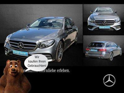 gebraucht Mercedes E350 d AMG Line 4Matic Comand/SHZ/Kamera/AHK SHD/DPF