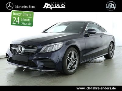 gebraucht Mercedes C220 d 4M Coupé AMG MULTIBEAM+Navi+Totw.+Kamera