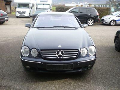 gebraucht Mercedes 600 CL-Coupe VOLLAUSSTATTUNG 2001,