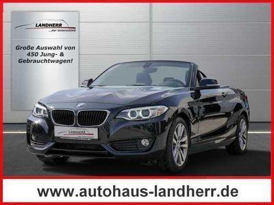 used BMW 218 d Cabrio Aut. Advantage 6 Jahre Qualitätsvers