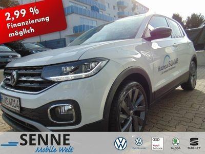 gebraucht VW T-Cross - 1.0 BMT Edition ,.LED, Navi, Beats,