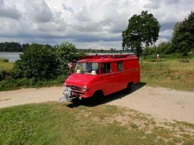 gebraucht Opel Blitz Feuerwehr Wohnmobil