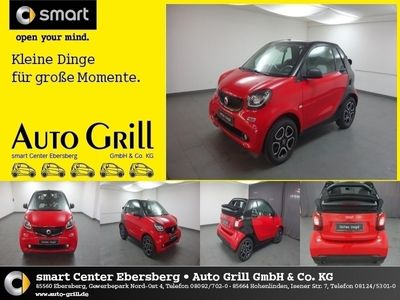 gebraucht Smart ForTwo Cabrio 66 kW Passion Navi LED PDC