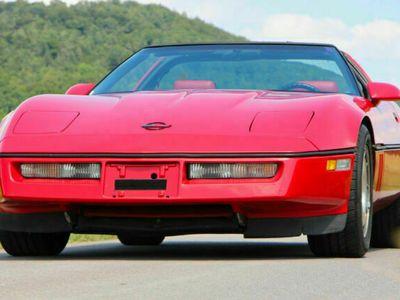 gebraucht Corvette C4 Targa 5,7l V8 TPI H-Zulassung Glasdach Klima als Cabrio/Roadster in Rudersberg