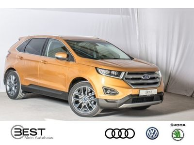 gebraucht Ford Edge 2.0 TDCi Bi-Turbo, Geländewagen 2.0 TDCi Bi-Turbo Titanium LED, Navi, Park Assist, LM 19 ""