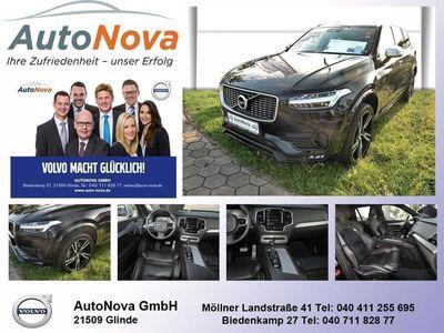 gebraucht Volvo XC90 T6 AWD R-Design Standhzg. Navi LED Leder