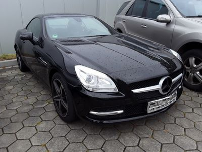 gebraucht Mercedes SLK200 BlueEFFICIENCY 7G-TRONIC LEDER NAVI LED