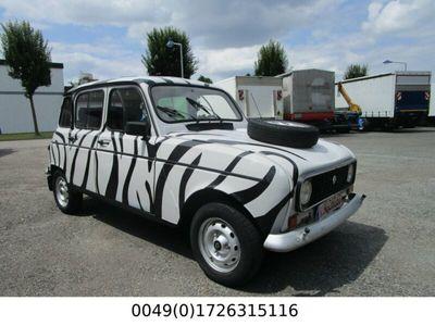 gebraucht Renault R4 GTL Zebra Look.