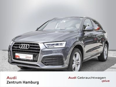 gebraucht Audi Q3 Sport 2,0 TDI quattro S tronic S LINE LED NAVI