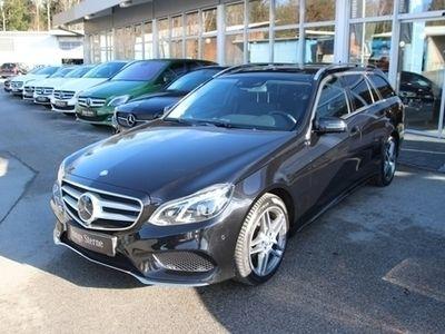 gebraucht Mercedes E400 4MATIC T-Modell COMAND APS/Navi/Distronic