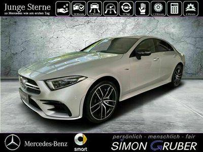gebraucht Mercedes CLS53 AMG 4M AMG Leder rot Burm widescreen Massage Neu