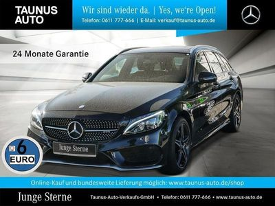 gebraucht Mercedes C43 AMG AMG T NAVI PANORAMA LED BUSINESS-PAKET