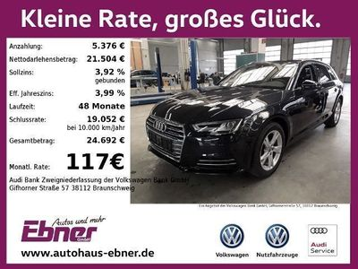 gebraucht Audi A4 Avant SPORT 2.0TDI S-TRONIC AHK,LED,NAVI,CONNECT,