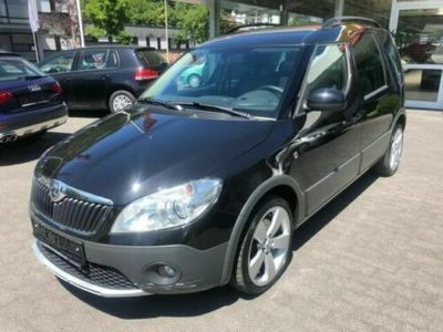 gebraucht Skoda Roomster Scout Plus Edition 1.Hd.,AHK.