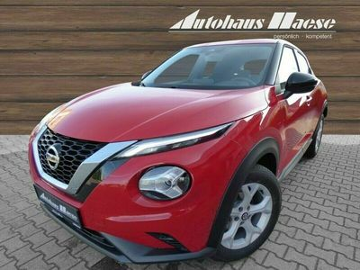 gebraucht Nissan Juke Acenta 1.0 DIG-T EU6d-T LED Navi Rückfahrkam. Fernlichtass. LED-Tagfahrlicht Multif.Lenkrad