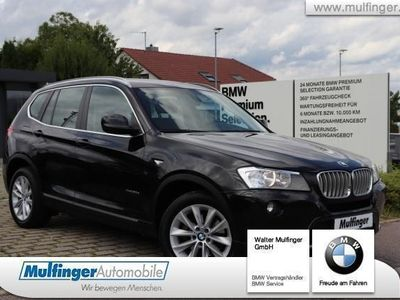 gebraucht BMW X3 xDr.30dA.Leder HUD Lenkradh.NaviPr.Kamera AHK