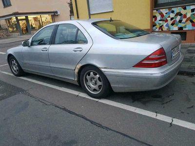 gebraucht Mercedes S320 w220 benzin tausch möglich als Limousine in Schifferstadt