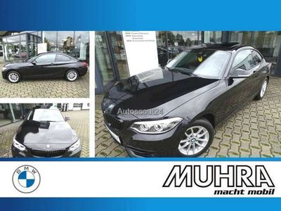 gebraucht BMW 220 A Coupe UPE50.400 Sport Line Navi Prof SD LED