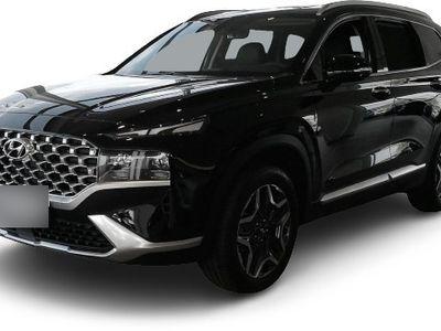 gebraucht Hyundai Santa Fe Santa FePrime Hybrid 2WD 1.6 T-GDI EU6d Leder LED Navi Keyless Klimasitze e-Sitze