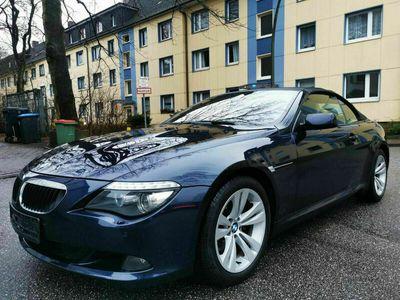 gebraucht BMW 630 Cabriolet i Automatik Facelift Leder-Navi-Xenon als Cabrio/Roadster in Hamburg