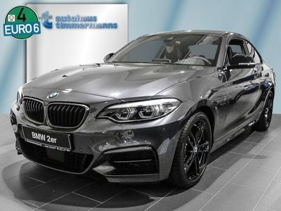 gebraucht BMW M240 xDrive Steptronic Coupe Navi Leder Glasdach LED Scheinwerfer Bluetooth