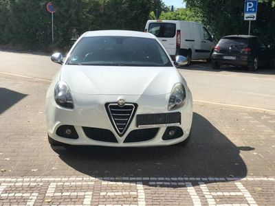 gebraucht Alfa Romeo Giulietta 2.0 JTDM 16V Leder Schwarz, Alufelgen,
