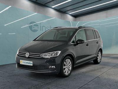 gebraucht VW Touran TouranHighline 2.0 TDI DSG Navi LED AHK StHz
