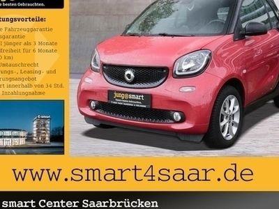 gebraucht Smart ForTwo Cabrio passion 66 kW, twinamic,LED&Sensor