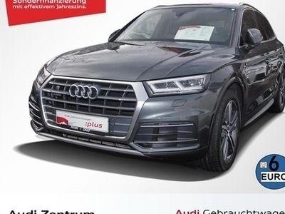 gebraucht Audi Q5 S line 2.0 TDI quattro S tronic AHK/LED/Luftf./Nav