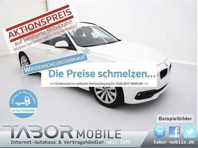 gebraucht BMW 318 d Touring Steptronic Nav LED PDC 17Z SHZ