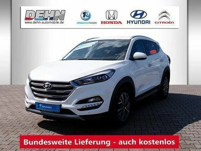 gebraucht Hyundai Tucson 2.0 CRDi A/T 4WD Premium Leder/belüftet/L