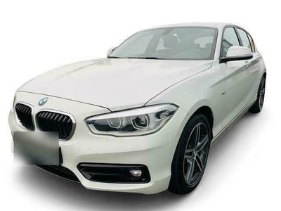 gebraucht BMW 120 i Sport Line 17-Zoll Automatik LED Fernlichtass. Sitzheizung