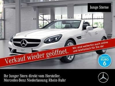 gebraucht Mercedes 180 SLCPano ILS LED Airscarf Totwinkel PTS Sitzh
