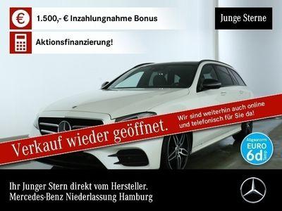 gebraucht Mercedes E300 d AMG Fahrass Pano Multibeam Burmester PTS
