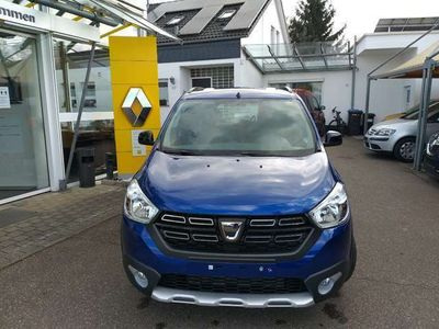 gebraucht Dacia Lodgy Blue dCi 115 Stepway Vollausstattung