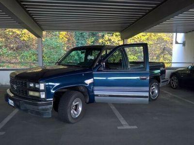 gebraucht Chevrolet Silverado C1500*TÜV 08/22*LPG*H-Kennzeichen