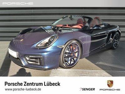 gebraucht Porsche Boxster GTS Sportabgas Sportfahrwerk PTV Chrono