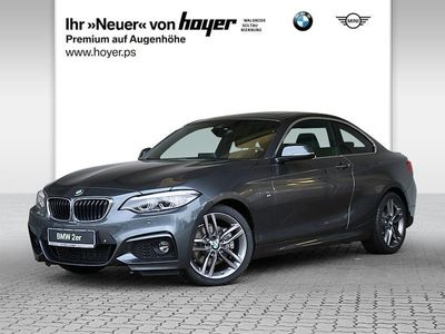 gebraucht BMW 220 i M Sport RFK GSD LED DAB Navi SHZ