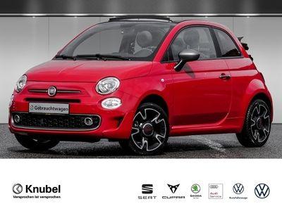 """gebraucht Fiat 500C Cabrio S&S 1.2 Navigation DAB 16"""" Einparkhilfe"""