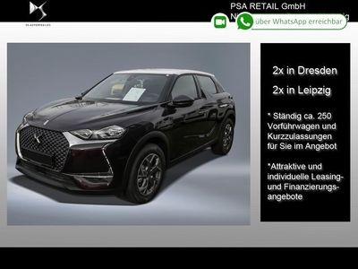 gebraucht DS Automobiles DS3 Crossback PureTech 100 CHIC-LED-SITZHEIZUNG-ZWEIFARBIG