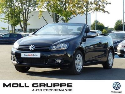 gebraucht VW Golf Cabriolet 1.6 TDI Trendline PDC Temp Alu